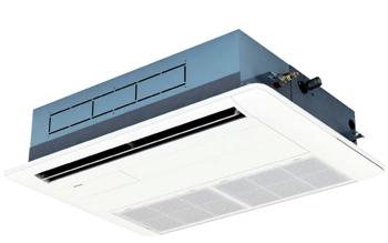 天井埋込カセット形 てんかせ1方向